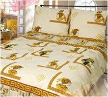 Полуторный комплект постельного белья Этник -640