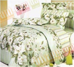 Полуторный комплект постельного белья Жасмин -735