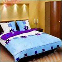 Евро комплект постельного белья Геометрия -583