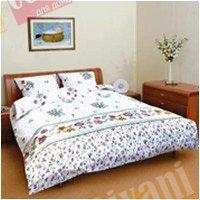 Евро комплект постельного белья Полисадник -589