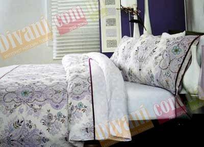 Евро комплект постельного белья Луиза -721