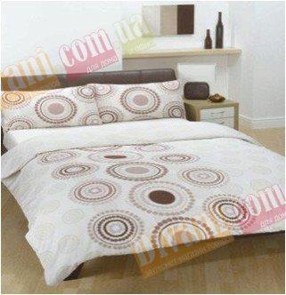 Евро комплект постельного белья Африкана коричневая -725