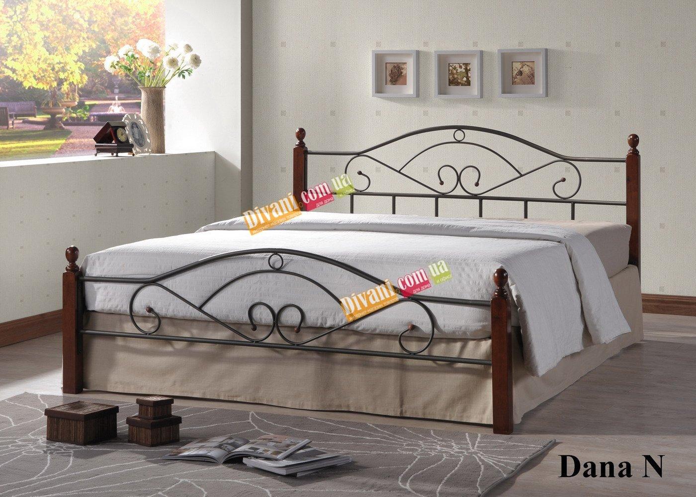 Кровать Onder Metal Metal&Wood Dana N 01 200x140см