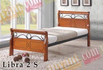 Кровать Onder Metal Metal&Wood Libra 2 S 190x90см