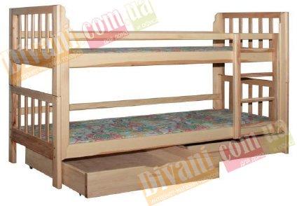 Кровать двухярусная Бюджет - 190x90см