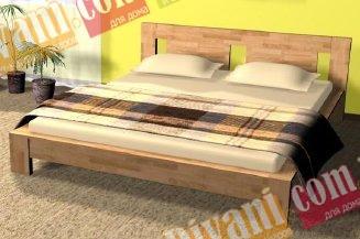 Кровать Сакура 2 - 190-200x180см (щит)