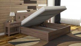 Полуторная кровать Диана c механизмом - 140x200см