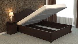 Двуспальная кровать Татьяна-элегант - 180x200см c механизмом
