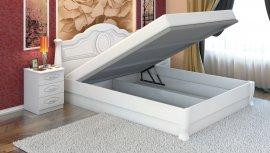Односпальная кровать Анна-элегант - 90x200см c механизмом