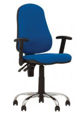 Кресло для персонала Offix GTR Freelock+ chrome