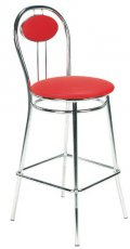 Барный стул Tiziano hoker chrome