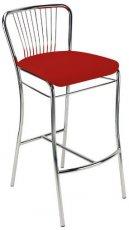 Барный стул Neron hoker chrome