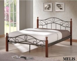Кровать Onder Metal Metal&Wood Melis 200x180см