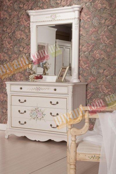 Будуарный столик и зеркало Екатерина