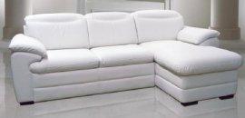 Кожаный угловой диван Икарус