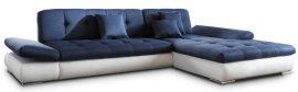 Кожаный угловой диван Квест 2 без механизма