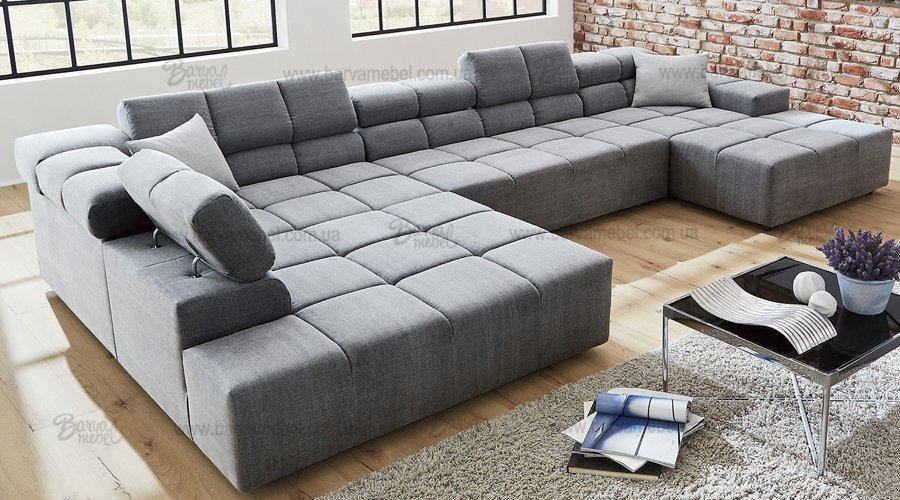 Большие модульные диваны со спальным местом