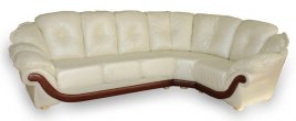 Кожаный угловой диван Богема 3х1