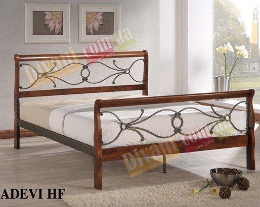 Кровать Onder Metal Metal&Wood Adevi-HF 200x160см