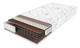 Двуспальный матрас Sleep&Fly Classic plus кокос — 160x200 см