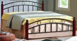 Двуспальная кровать кованая UF-9001 160 x 200 Green Line