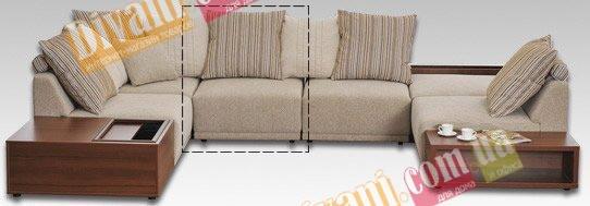Модуль дивана Жанин полудиван мод.2 (замки с обеих сторон)
