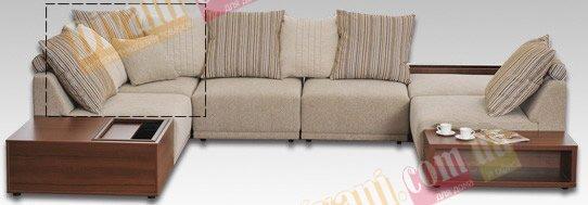Модуль дивана Жанин углов. элемент мод.3