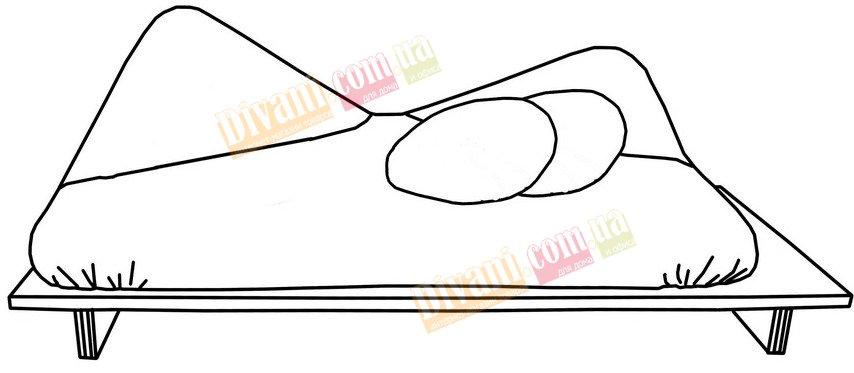 Диван-кровать Twister-WWRP