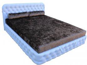 Двуспальная кровать Бакарди 180х200 см (матрас, пружина Боннель) - E