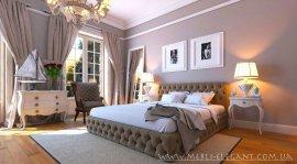 Полуторная кровать Бакарди 140х200 см  (ламели, без матраса)