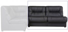 Офисный модульный диван Плаза Двухместный диван