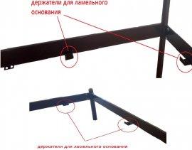 Кровать без основания под матрас - 120/140х190/200 см