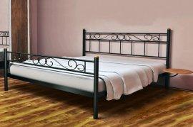 Полуторная кровать Эсмеральда 1 - 120 см с низкой спинкой у ног