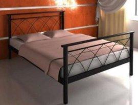 Двуспальная кровать Diana 1 - 180см с низкой спинкой у ног