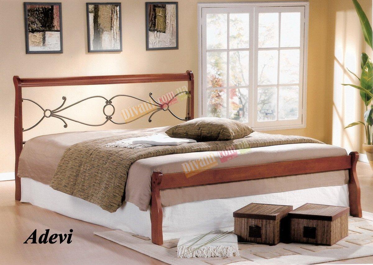 Кровать Onder Metal Metal&Wood ADEVI 200x160см