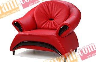 Кожаное кресло Жасмин