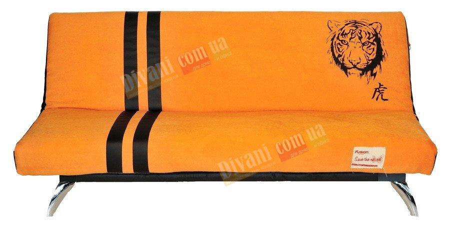 Диван-кровать Fusion Std2 1,2м с хромированной ножкой все расцветки
