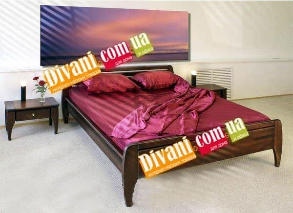 Кровать Танго - 190-200x80см - Дуб(массив)