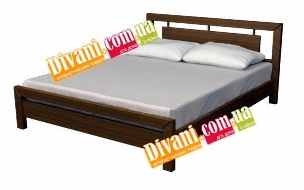 Кровать Aleks - 190-200x140см - Дуб(массив)