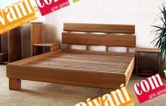 Кровать Тина - 190-200x120см - Ясень(массив)