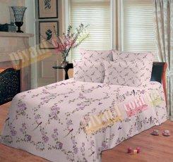 Семейный комплект постельного белья Райский сад