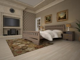 Односпальная кровать Атлант 4 - 90см