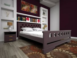 Двуспальная кровать Атлант 9 - 160см