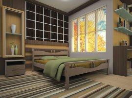 Односпальная кровать Гармония - 90см