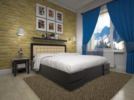 Полуторная кровать Кармен ПМ - 140см