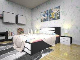Двуспальная кровать Элит 2 - 160см