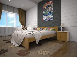 Односпальная кровать Изабелла 3 - 90см