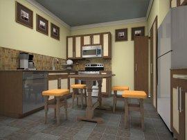 Кухонный стол Элегант раскладной
