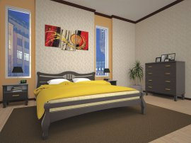 Полуторная кровать Корона - 120см