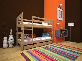 Двухъярусная кровать Трансформер 3 - 80-90x190-200см
